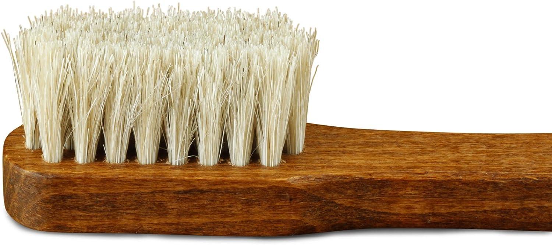 la brosse /à chaussures pour le soin du cadre de la chaussure Langer /& Messmer brosse entretien en crin 100/%
