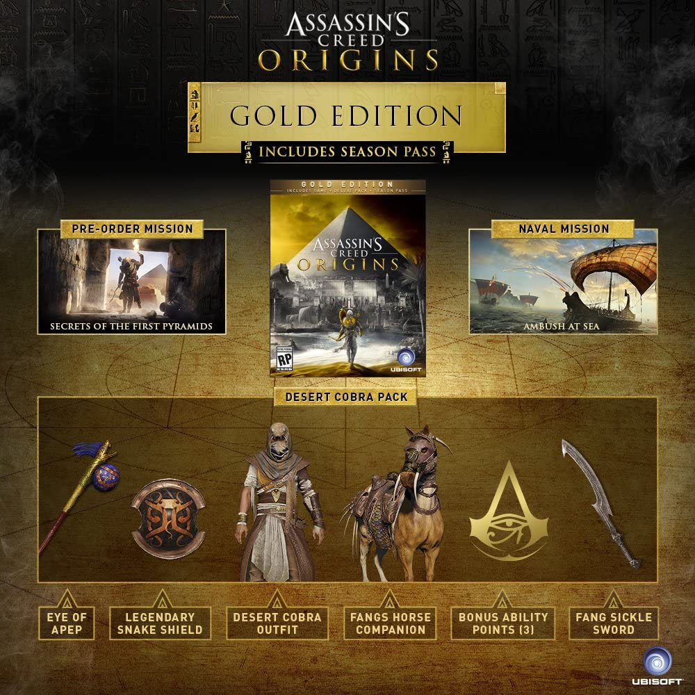 Pre order code recovery form - Amazon Com Assassin S Creed Origins Gold Edition Xbox One Digital Code Video Games