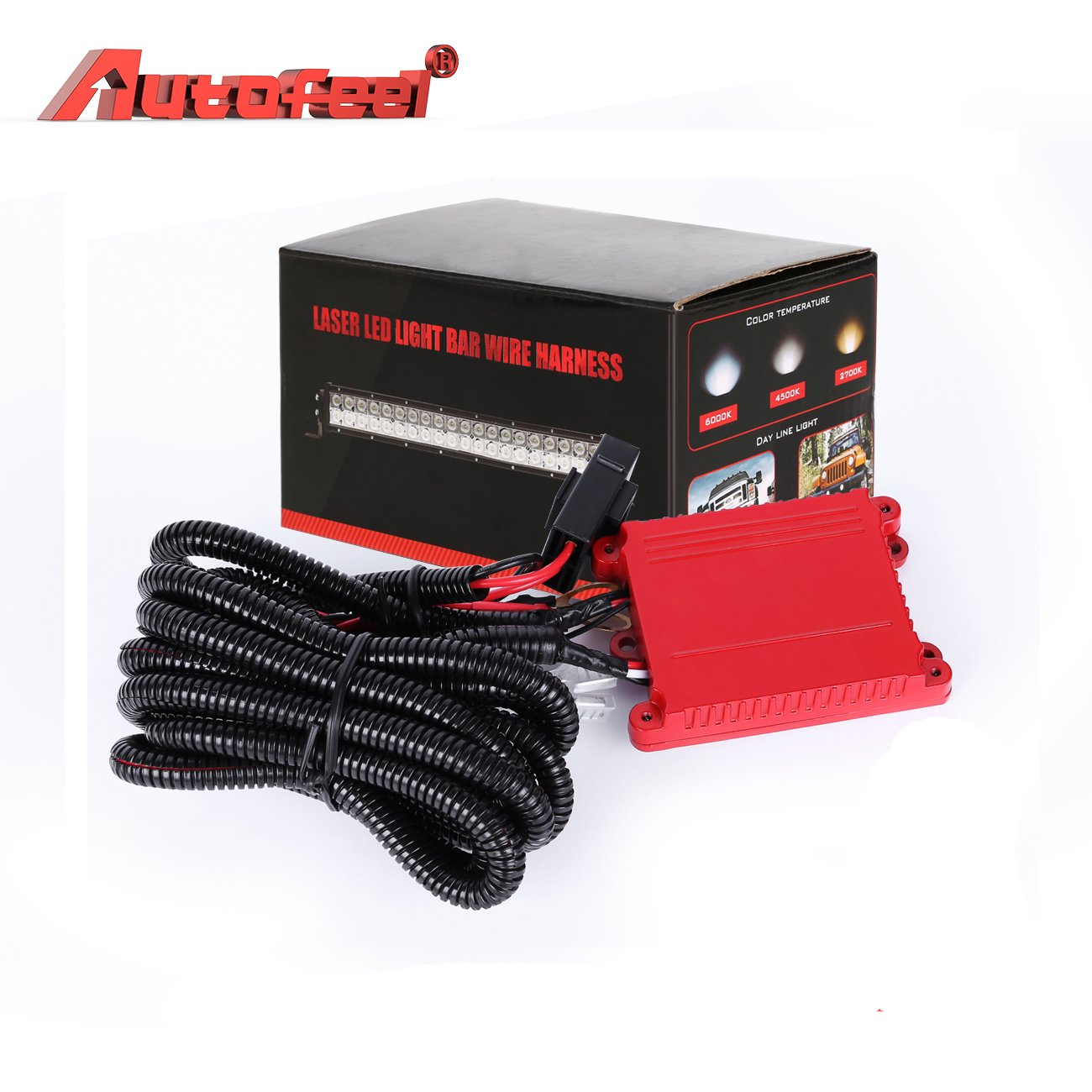 Amazon.com: Wiring Harness Autofeel Remote Control Wiring Harness Kit For  8D Dual-Mode LED Light Bar Universal Fitment Light Bar Accessories:  Automotive