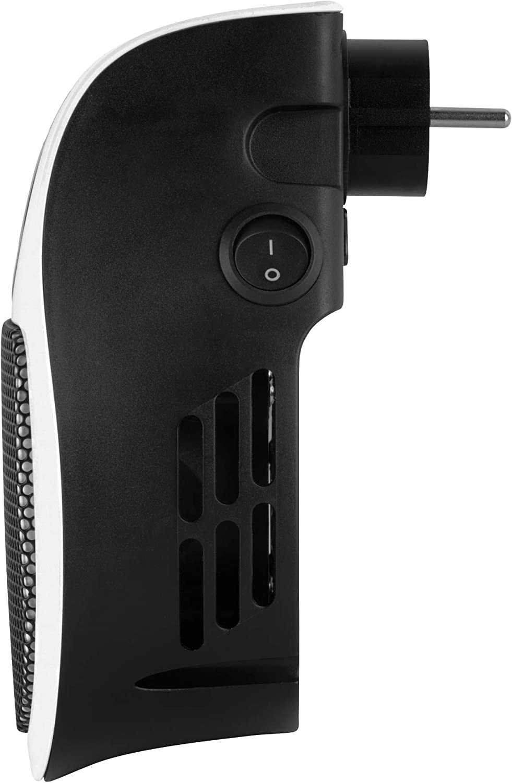 500/W Beldray EH3001JAWFOBGER-VDE Steckdosen-Heizger/ät mit Fernbedienung Netzanschlussheizung