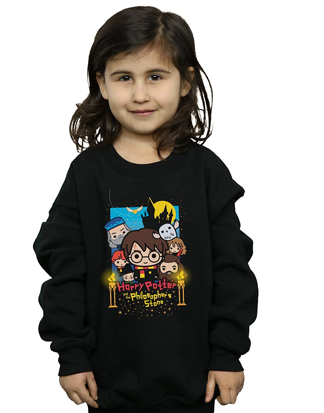 Harry Potter Fille Philosopher's Stone Junior Sweat-Shirt Absolute Cult