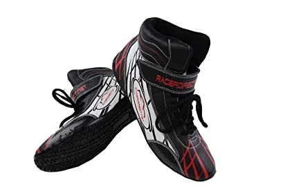 c5c2dae4bf843 Racerdirect.net Mid Top Driving SFI 3.3/5 Race Shoes. Men's Size 10,  Women's Size 12