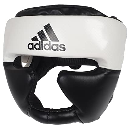 6049e2b27b454 Amazon.com : adidas Pro Boxing/MMA Headgear : Sports & Outdoors