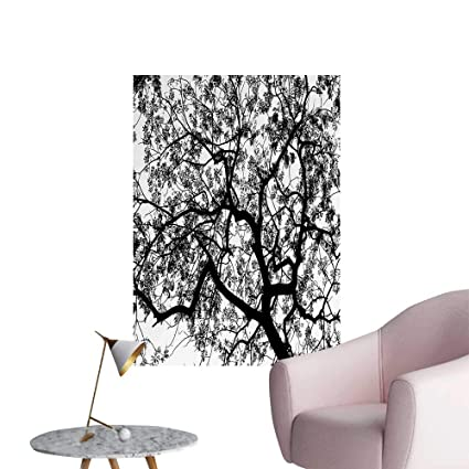 Amazon Com Wall Painting Forest Tree Branches Modern Spooky Horror