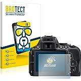 BROTECT AirGlass Pellicola Vetro Flessibile Chiaro per Nikon D5500 Proteggi Schermo, Vetro Protettivo - Extra-Resistente, Ultra-Leggero