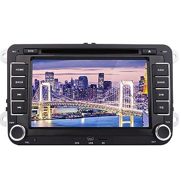 Eincar 7 Pulgadas GPS Car Stereo Doble DIN Bluetooth Autoradio DVD del Coche para VW Volkswagen