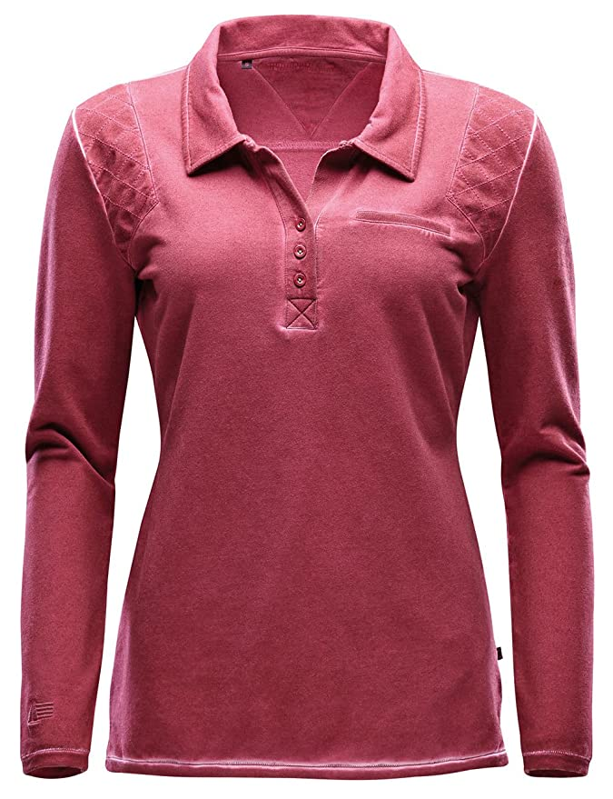 Marinepool Polo Smilla Long Sleeve Women - Polo para Mujer, Color ...
