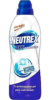 Neutrex Oxy Blanco Puro Quitamanchas Gel sin Lejía para Ropa - 0,8 l