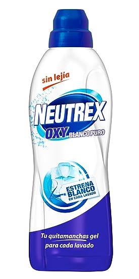 Neutrex - Oxy Blanco puro - Quitamanchas gel sin lejía para ropa - 800 ml