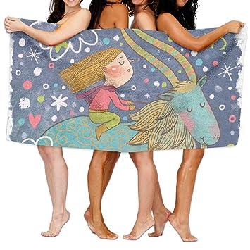 Toallas de baño, animales dibujos animados Super suave ultra absorbente toalla de baño para hombres mujeres niños, cuarto de baño accesorios: Amazon.es: ...