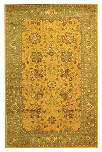 Safavieh 5 ft. x 8 ft. Rectangular Rug in Gold
