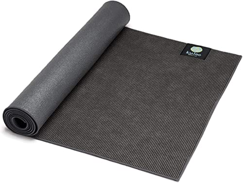 kulae Elite Hybrid 5mm - Non-Slip, Eco-Friendly, Recyclable, Hot Yoga Mat Towel Combo for All Types of Yoga, Pilates and Fitness, 72 x 24
