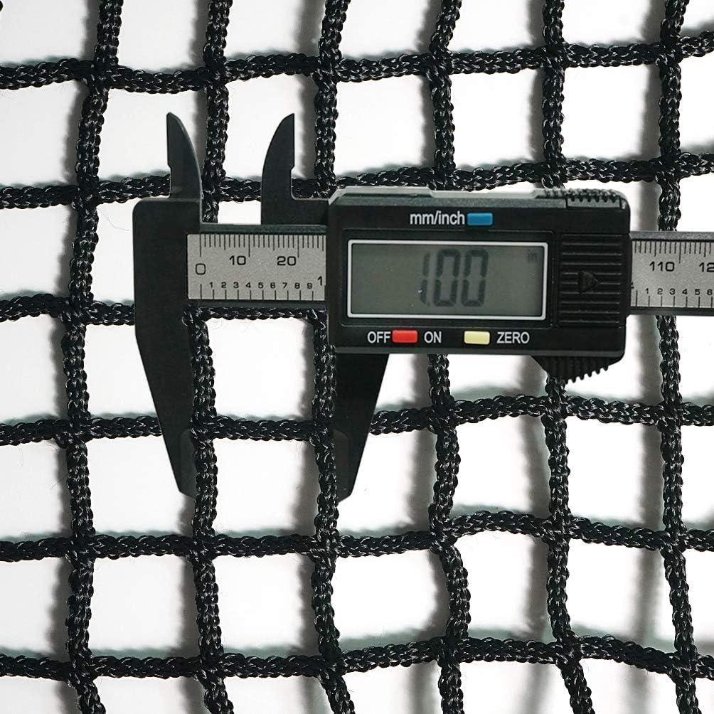 Aoneky Filet /à Foin pour Cheval 90x45x45cm Sac /à Foin /à Alimentation Lente avev Un Cordon de 3M Petite Maille Carr/ée 2.5x2.5cm Noir
