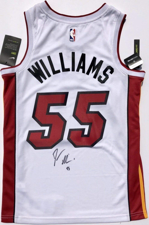 Authentic Autographed Jason Williams #55 Miami Heat Basketball ...