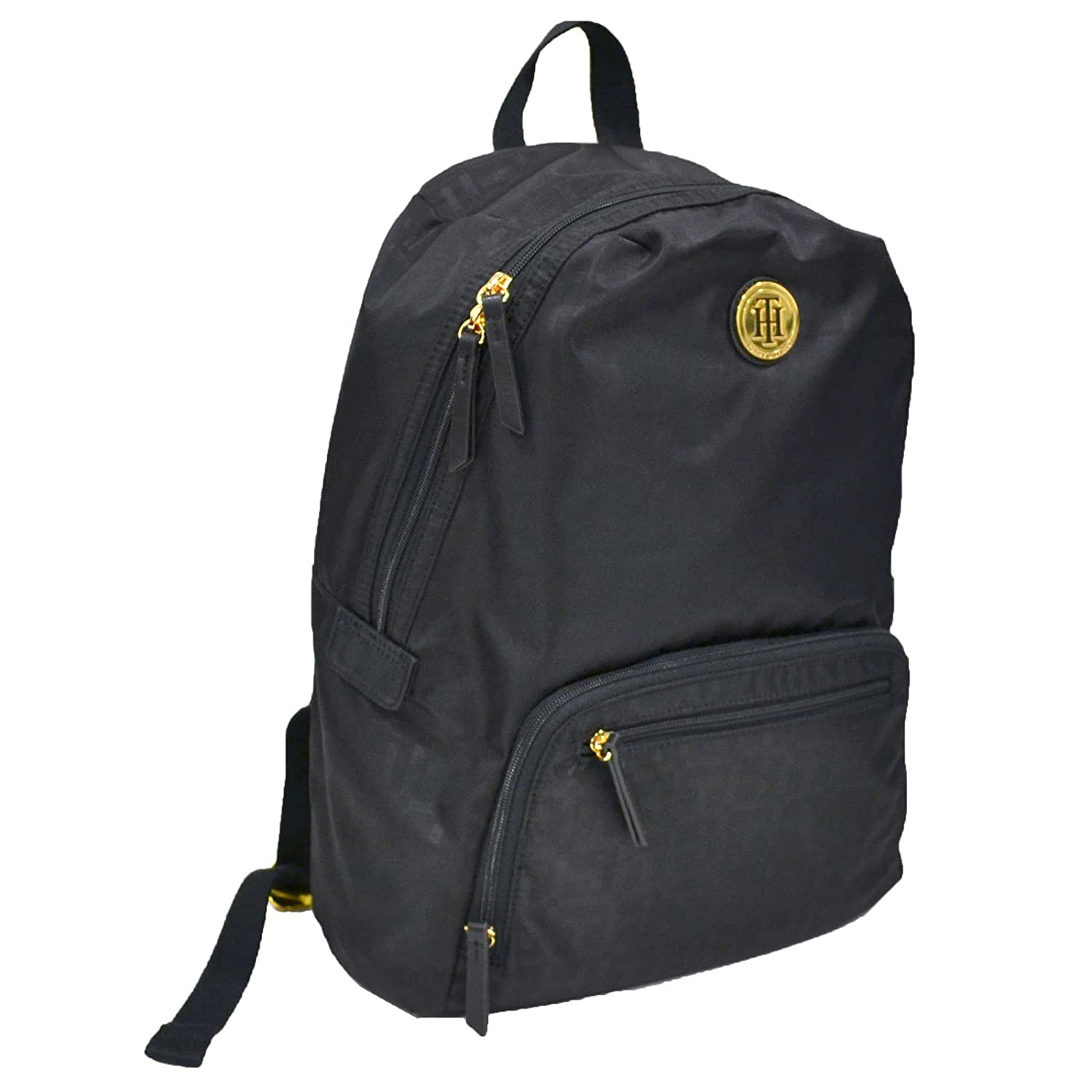 a32579887a0a Amazon.com: Tommy Hilfiger Nylon Laptop Backpack (Black): Computers &  Accessories