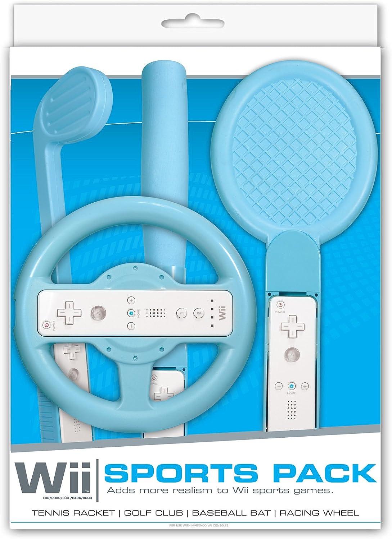 Competition Pro Wii Sports Pack - Blue (Wii) [Importación inglesa]: Amazon.es: Videojuegos