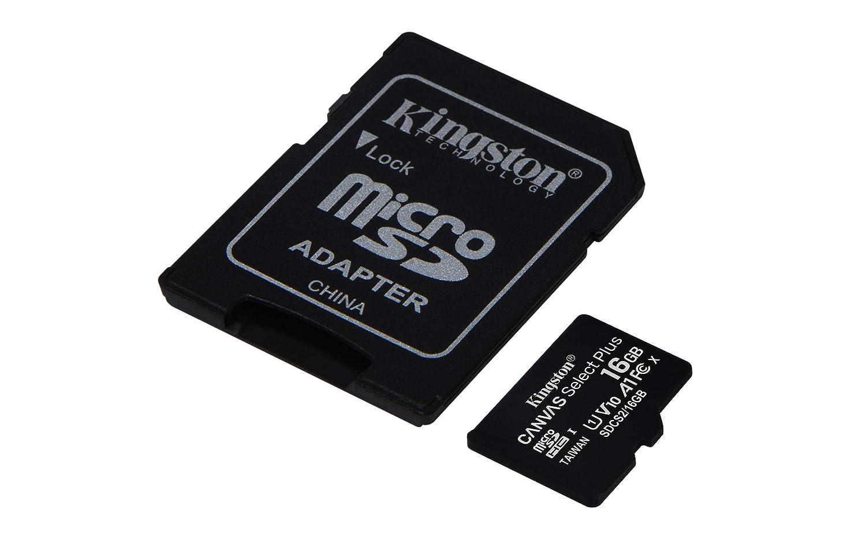 Kingston Canvas Select Plus Tarjeta microSD, SDCS2/16GB Class 10 ...