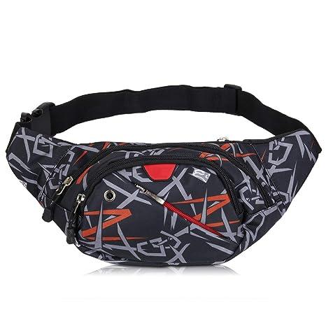 204524b95c MUTANG Marsupio Sport Running Bum Bag Borsa sportiva per il tempo libero  impermeabile di grande capacità