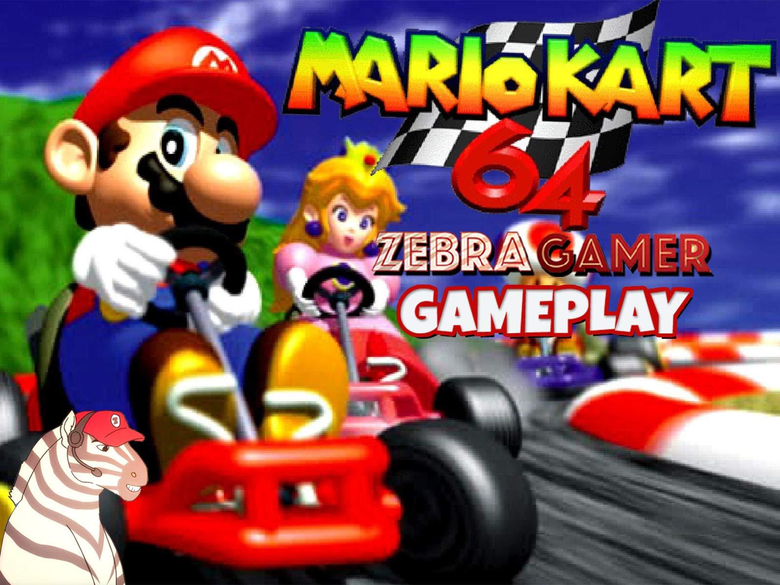 Clip: Mario Kart 64 Gameplay - Zebra Gamer - Season 1