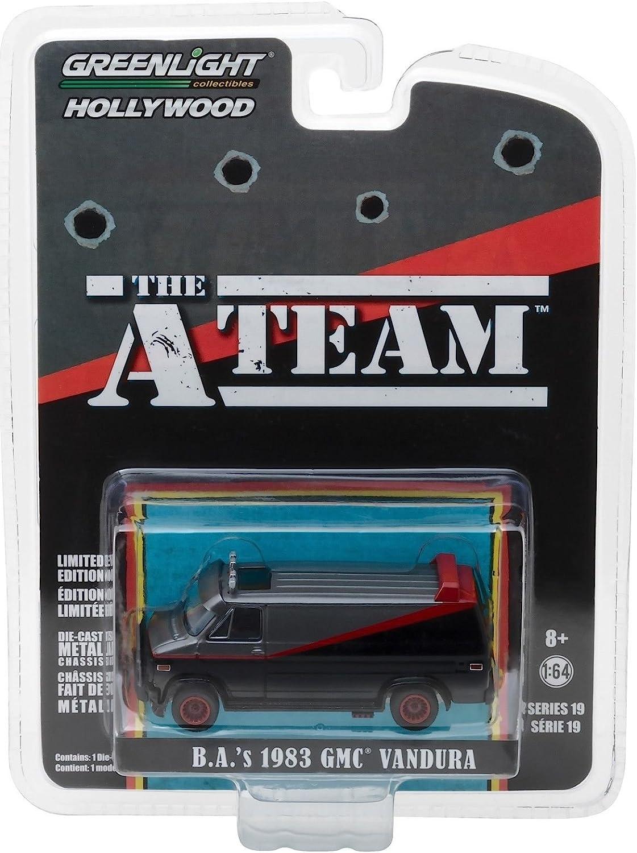 The A Team 1983 Gmc Vandura Van Greenlight Hollywood 1 64 Spielzeug
