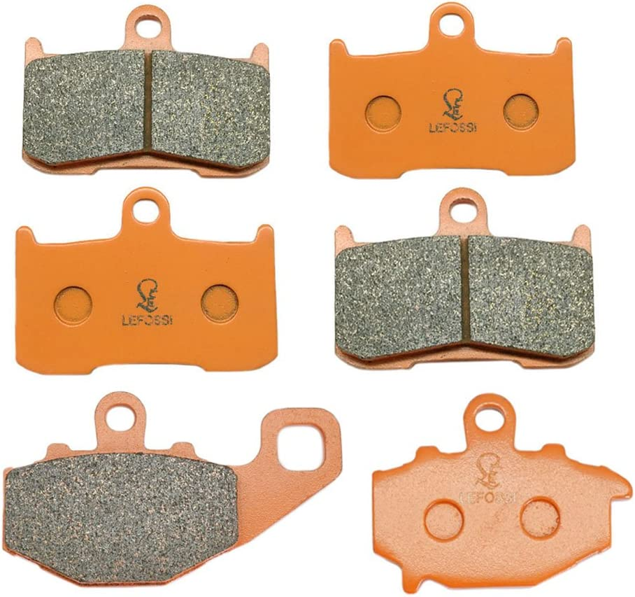 Motorcycle Front Brake Pads for KAWASAKI ZX 9 R ZX 900 F1//F2 2002 2003 2004