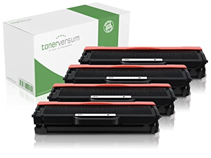 4 x Tóner (equivalente a Samsung MLT-D111S, MLT-D111S, 111S ...