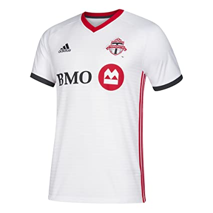 ef7922ee0ce Image Unavailable. Image not available for. Color: adidas MLS Toronto Fc  7417ATOPAZNTFS Men's Replica Jersey ...