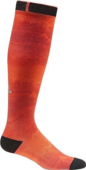 Adidas Cli Kn Wg 1P Calcetines, Mujer, Naranja (Narbri/Gritra / Blanco