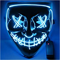 USCVIS Halloween LED Máscaras