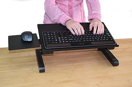 Amazon Com Workez Keyboard Tray Stand Up Adjustable Height Angle