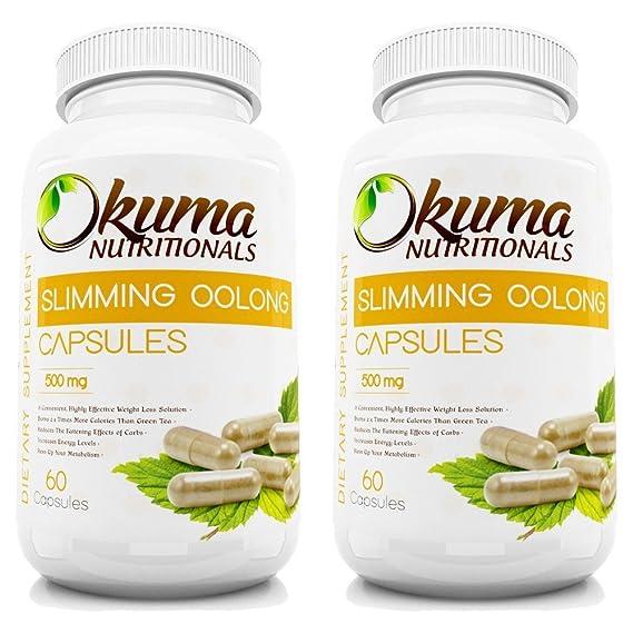 Okuma Nutritionals SlimTea - Comprimidos adelgazantes (poder 100% natural concentrado de té Oolong)