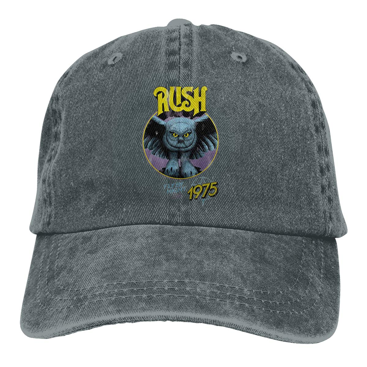 Zlizhi Rush Fly by Night Live 75 Men Women Plain Cotton Adjustable Washed Twill Low Profile Baseball Cap Hat