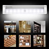 LED Closet Light Motion Activated, Moresky 10 LED
