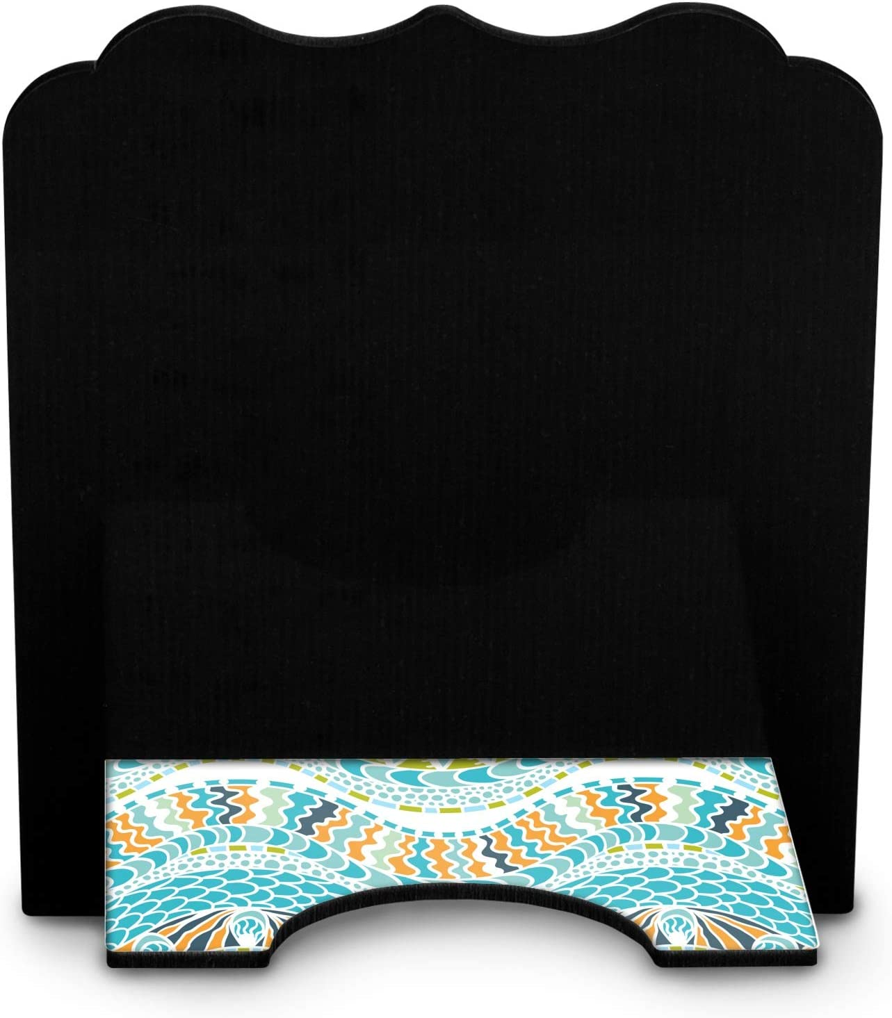 Personalized YouCustomizeIt Teal Ribbons /& Labels Stylized Tablet Stand