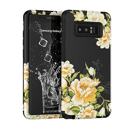 Amazon.com: Funda para Galaxy Note 8, Yoomer 3 en 1, diseño ...