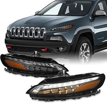 for 2014 2015 2016 2017 2018 Jeep Cherokee Right Passenger Daytime Running Light