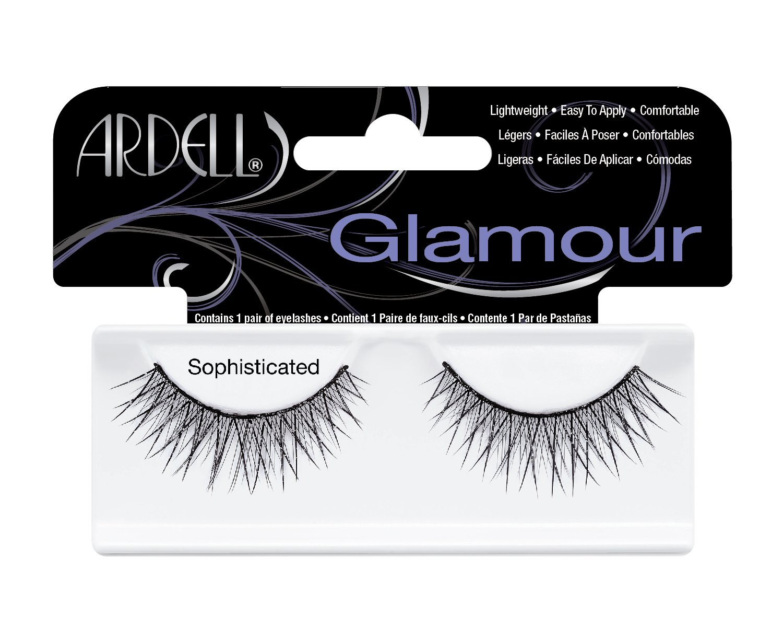 Ardell Elegant Eyes Glittered Lashes Pair, Sophisticated