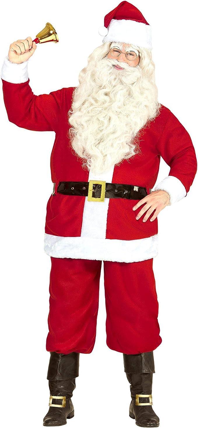Babbo Natale Uomo Bello.Widmann Milano Party Fashion Babbo Natale Costume Uomo Amazon It Abbigliamento