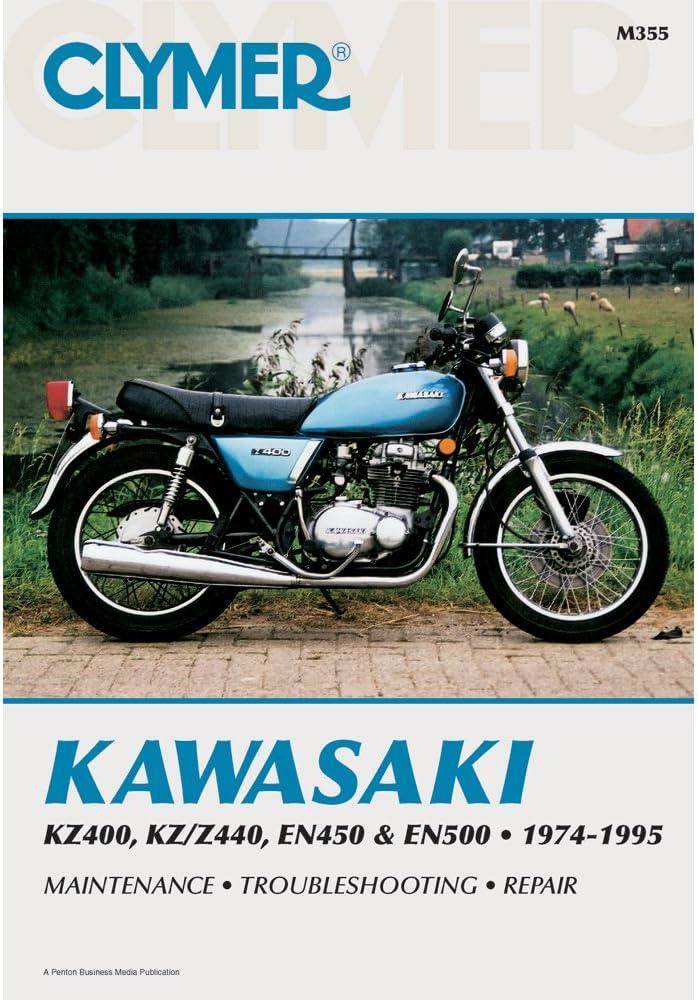 EN450 /& EN500 SERVICE MANUAL M355 1974-1995 CLYMER KAWASAKI KZ400 KZ//Z440
