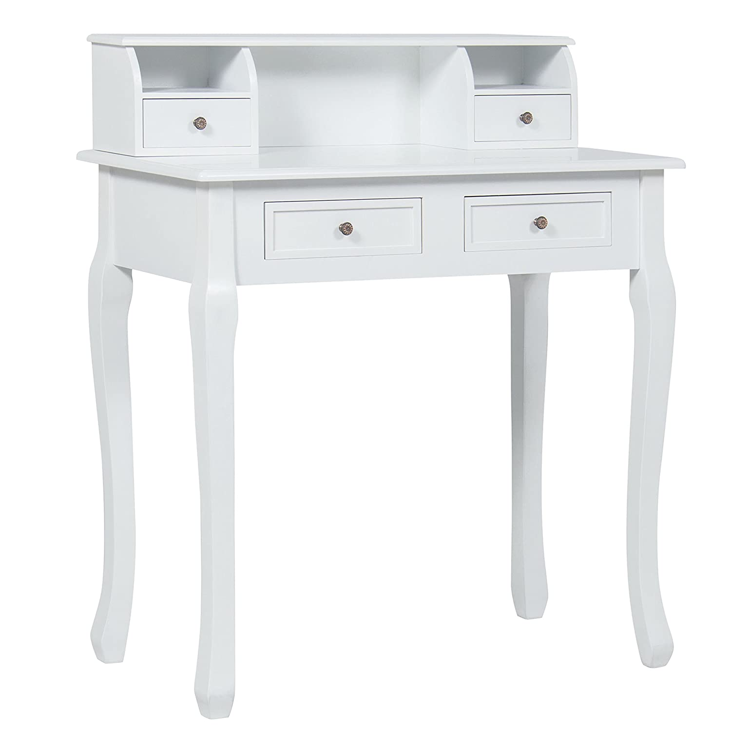 home office computer desk furniture. Amazon.com: Best Choice Products Home Office Furniture Writing Desk Work Station Computer Laptop Table, White: Kitchen \u0026 Dining E