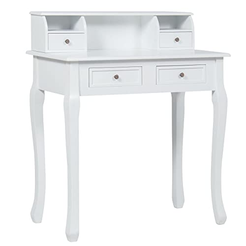 Exceptionnel Best Choice Products Home Office Furniture Writing Desk Work Station  Computer Laptop Table, White