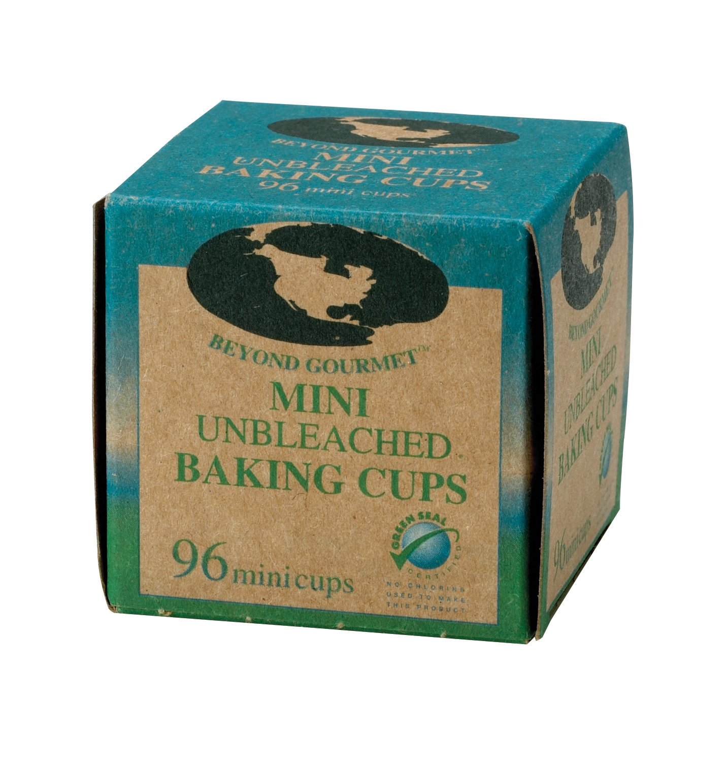 Beyond Gourmet Unbleached Non-Stick Mini Baking Cups, 96 Count