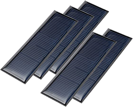 Mini Solar Panel System For DIY Battery Cell Phone New 60MA 5V Charger T2B9