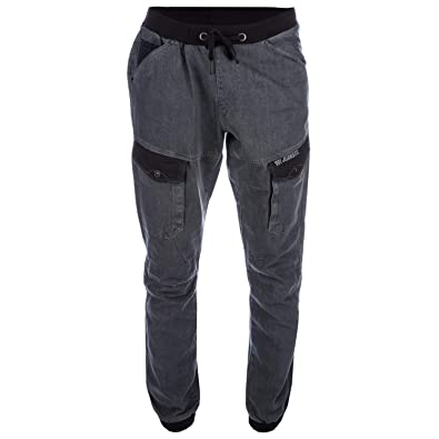 VOI Mens Jeans Mens Warrior Grey Denim Jeans in Denim - 34R  Voi ... a6aa5e7d1