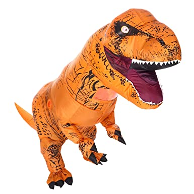 aoska t rex inflatable costume halloween adult dinosaur costume t rex