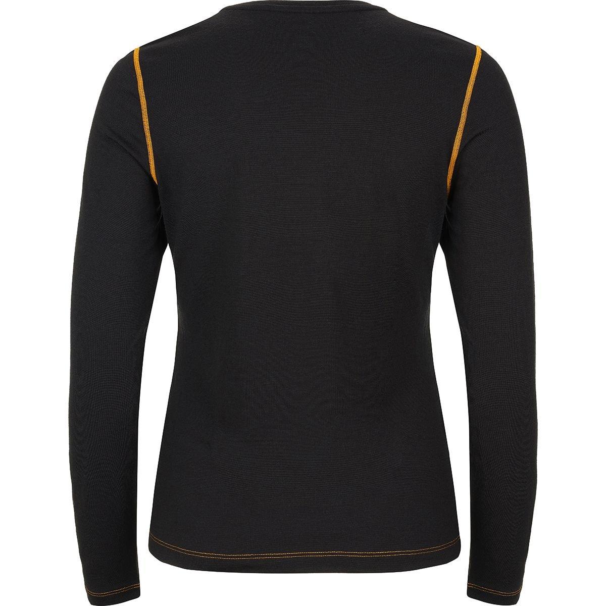 W BASE CREW NECK 230 super.natural Damen Langarm-Shirt Mit Merinowolle