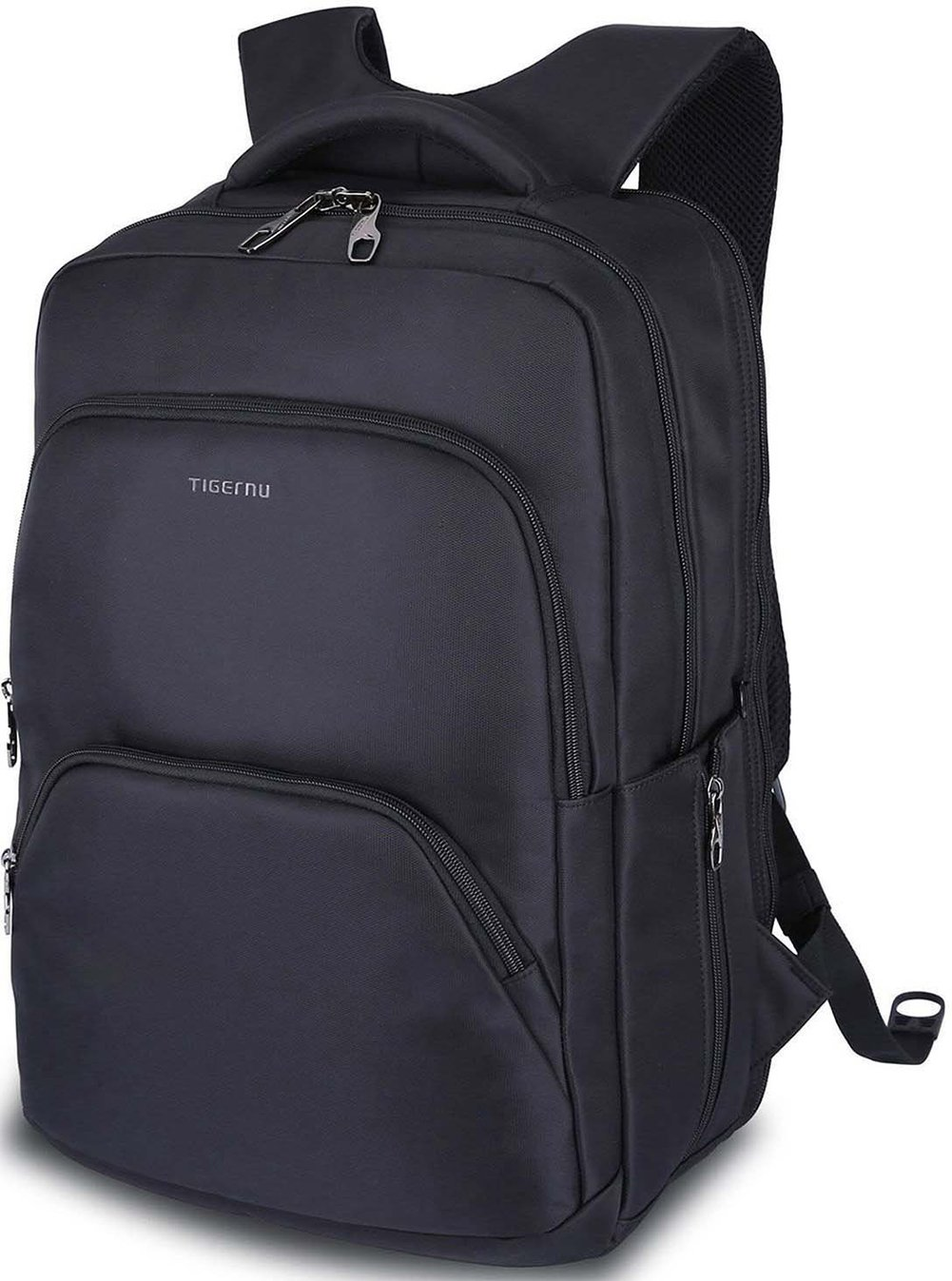 Slim Business Laptop Backpack: Unisex, Advanced Design with Lots of Pockets, Professional Quality, Waterproof, Stylish and Lightweight (Black(TSA)) LAPACKER