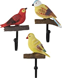 Amazon.com: Creative Retro Bird ganchos de pared gancho para ...