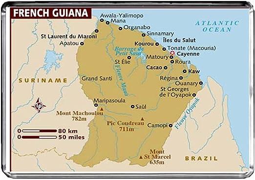 carte de guyane