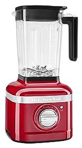 KitchenAid KSB4027PA K400 Countertop Blender, 56 Oz, Passion Red